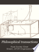 Philosophical Transactions  Giving Some Account of the Present Undertakings  Studies  and Labours of the Ingenious  in Many Considerable Parts of the World