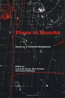 Pions to Quarks