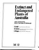 Extinct and Endangered Plants of Australia