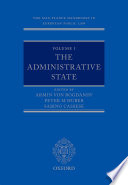 The Max Planck Handbooks In European Public Law Volume I The Administrative State