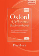Books - Oxford Afrikaanse Skoolwoordeboek Werkboek | ISBN 9780199058464