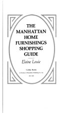 The Manhattan Home Furnishings Shopping Guide