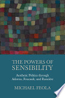 The Powers of Sensibility
