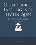 Open Source Intelligence Techniques