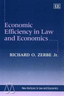 Pdf Economic Efficiency in Law and Economics Telecharger