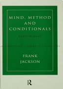 Mind  Method and Conditionals