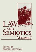 Law and Semiotics Pdf/ePub eBook