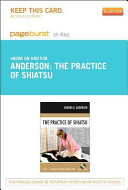 The Practice of Shiatsu Pageburst on KNO Access Code