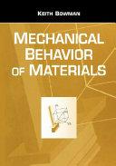 Mechanical Behavior Of Materials Book PDF