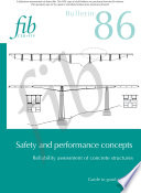 Safety and performance concept  Reliability assessment of concrete structures Book
