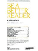 Be a Better Reader Book