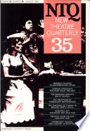 New Theatre Quarterly 35: Volume 9, Part 3