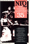 New Theatre Quarterly 35  Volume 9  Part 3