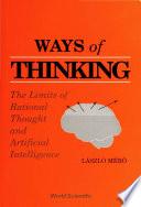 Ways Of Thinking Book PDF