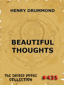 Pdf Beautiful Thoughts (Annotated Edition) Telecharger