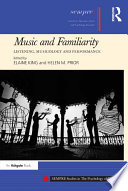 Music and Familiarity Book PDF