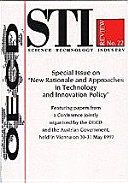STI Review, Volume 1998 Issue 1 Special Issue on New Rationale and Approaches in Technology and Innovation Policy