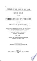 Report of the Commissioners of Fisheries of the State of New York