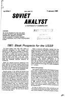 Soviet Analyst