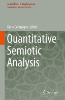 Quantitative Semiotic Analysis Pdf/ePub eBook