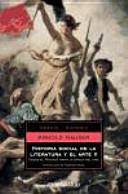 Historia social de la literatura y el arte II