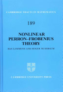 Nonlinear Perron-Frobenius Theory