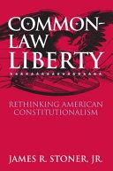 Common-law Liberty