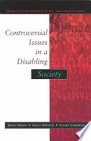 Cover of Controversial Issues In A Disabling Society