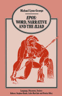 Pdf Epos Word, Narrative and the Iliad Telecharger