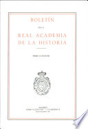 Boletin de la Real Academia de la Historia. TOMO CLXXXVIII. NUMERO II. AÑO 1991