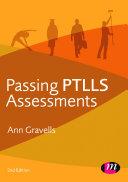 Passing PTLLS Assessments