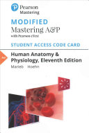 Human Anatomy   Physiology Modified Mastering A P With Pearson Etext Access Code