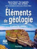Éléments de géologie - 17e éd.