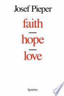 Faith  Hope  Love Book