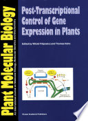 Post-Transcriptional Control of Gene Expression in Plants