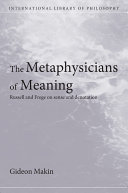The Metaphysicians of Meaning