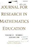 Journal for Research in Mathematics Education