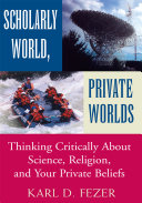 Pdf Scholarly World, Private Worlds Telecharger