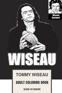 Tommy Wiseau Adult Coloring Book