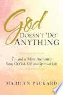 God Doesn t  Do  Anything Book PDF