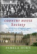 Pdf Country House Society