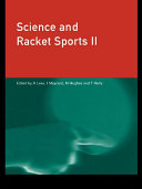Science and Racket Sports II