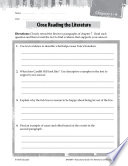 The Adventures of Tom Sawyer Close Reading and Text Dependent Questions
