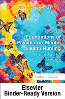 Varcarolis  Foundations of Psychiatric Mental Health Nursing   Binder Ready Book