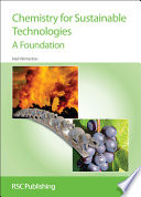 Chemistry For Sustainable Technologies Book PDF