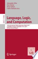 Language Logic And Computation