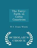 The Fairy Faith in Celtic Countries   Scholar s Choice Edition
