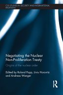 Pdf Negotiating the Nuclear Non-Proliferation Treaty Telecharger