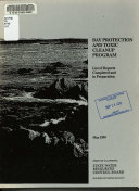 Bay Protection and Toxic Cleanup Program