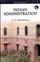 Indian Administration (Sixth Edition)